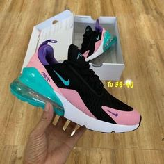 Nike air max 270 (color as picture) Price: ฿ Hi-End Gr.- Nike air max 270 (color as picture) Price: ฿ Hi-End Grade 1 Full Box … Nike air max 270 (color as picture) Price: ฿ Hi-End Grade 1 Full Box Set. Works like the original grade. Sneakers Fashion Outfits, Nike Shoes Outfits, Nike Fashion, Nike Air Max, Nike Air Shoes, Sneaker Heels, Shoes Sneakers, Zapatillas Nike Air Force, Souliers Nike