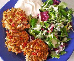 Rezept Thunfisch-Bällchen (Low Carb!) von Yash - Rezept der Kategorie sonstige Hauptgerichte