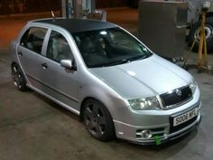 Fabia Vrs on Audi TT Wheels (Parabol) Skoda Fabia, Audi Tt, Mk1, Wheels, Cars, Random, Automobile