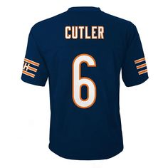 Chicago Bears Jay Cutler Jersey - Boys 4-7, Size: M 5-6, Blue