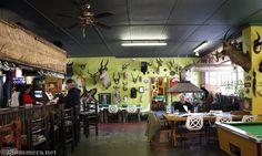 Inside the Zebra Inn