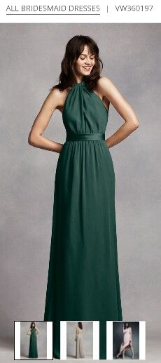 David S Bridal Vera Forest This Is Also A Beautiful Bridesmaid Dress