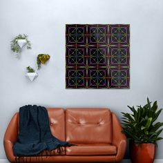 Cool Funky and Unique Colorful Colorblock Fabric Squares Metal Print    #canvas #color #block #fabric #wall #decor Copper Wall Art, Abstract Metal Wall Art, Abstract Canvas Art, Black Wall Decor, Black Wall Art, Futuristic Home, Geometric Wall Art, Fabric Squares, Wall Tapestry