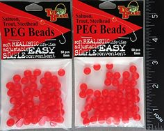 TWO PACKS Top Brass Peg Beads 8mm, Orange PBD-008ORG-50  http://fishingrodsreelsandgear.com/product/two-packs-top-brass-peg-beads-8mm-orange-pbd-008org-50/  TWO PACKS Top Brass Peg Beads Size: 8mm – These are acrylic plastic beads Color: Orange