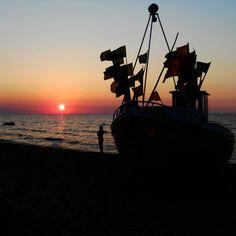 Sunset, Poland, Baltic...
