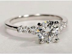 Absolutely beautiful and very classy.  If you propose to me, do it with this ring!