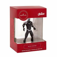 Panther Captain 3 Hallmark Marvel Series 1 Mystery Christmas Ornament Sealed