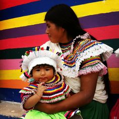 Madre e hija del Estado de Guerrero