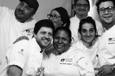 Buenos Aires com cozinheiros e amigos, em Jantar Beneficente