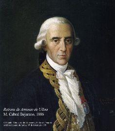 Retrato de Antonio de Ulloa