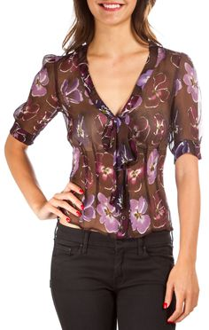 Prada Blouse @FollowShopHers