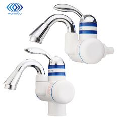 Instant Heating Electric Water Tap Leakage Protection Plug 220V Electrothermal Faucet Hot & Cold Kitchen Sink Household