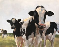 Cow Painting, Cow Art, Cow PRINT - Cow Oil Painting, Holstein Cow, Farm Animal Art, Farmhouse Art, Prints of Farm Animals, Farm Wall Art by JamesCoatesFineArt2 on Etsy Holstein Cows, Cow Painting, Cow Art, Pictures To Paint, Original Paintings, Oil Paintings, Fine Art Gallery, Canvas Prints, Art Prints