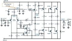 Here power amplifier scheme based well-known transistor pair of and Schematic design, PCB layout provided, power supply circuit included Valve Amplifier, Class D Amplifier, Audio Amplifier, Speakers, Electronic Engineering, Electronic Circuit, Power Supply Circuit, Schematic Design, Electronic Schematics