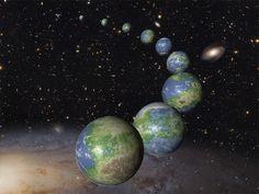 Cientistas estimam pelo menos um bilhão de ~mundos existentes só na Via Láctea