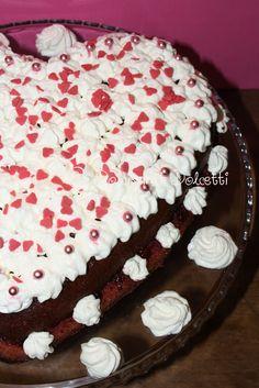 Dolcissimi Dolcetti: Un cuore rosso per San Valentino... - Valentine cake