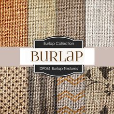 Burlap digital paper PATTERNED BURLAP burlap / linen textured chevron backgrounds, canvas patterns #textures #backgrounds #digitalpaper #burlap #canvas #linen