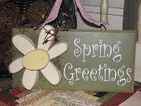 Spring greetings...