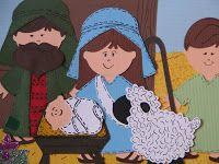 SCRAPPIN' CRICUT: It's Christmas Time! Nativity Layout 2008