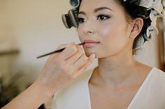 Carissa's glowing natural bridal makeup - Sunshine Coast Makeup Artist