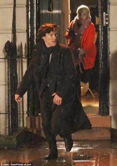 Coming between Benedict Cumberbatch and Martin Freeman was...