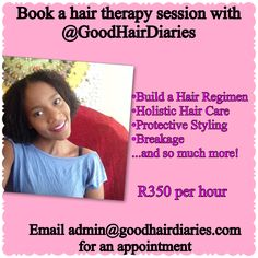 Hair Regimen, Protective Styles, Appointments, Diaries, Black Hair, Cool Hairstyles, Hair Care, Therapy, Hair Beauty