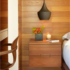 wood paneling is back in a good way