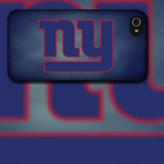 New York Giants iPhone 4/4s or iPhone 5 Black Rubber Silicone cover