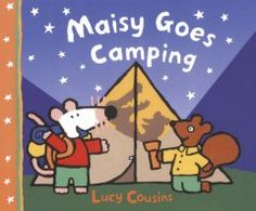Tuesday, July 21, 2015. Maisy the mouse and her friends spend a night camping under the stars.
