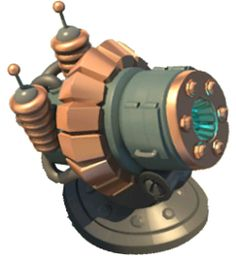 """The Shock Launcher fires shock bombs, similar to those in your Gunboat's arsenal. Enemy troops caught in the area of effect are briefly stunned and unable to move or attack. Boom Beach, Fantasy House, Clash Royale, Game Item, Game Assets, Clash Of Clans, Game Design, Fire, Weapon"