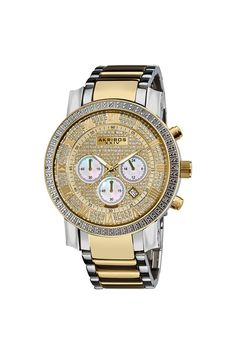 Akribos Diamond Chrono Watch Luxury Watches, Rolex Watches, Cool Outfits For Men, Jack Threads, Playing Dress Up, Michael Kors Watch, My Style, Fashion Trends, Accessories