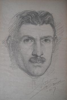 'Portrait' (1917) Washington, Portrait, Artist, Headshot Photography, Men Portrait, Washington State, Drawings, Amen, Portraits