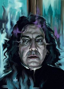 Two portrait studies of Albus Dumbledore and Severus Snape from the Harry Potter series of movies. Severus Snape, Snape Y Lily, Severus Rogue, Albus Dumbledore, Harry Potter Fan Art, Harry Potter Portraits, Harry Potter Friends, Lily Evans, Thing 1