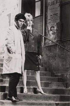 Brigitte Bardot and Sami Frey