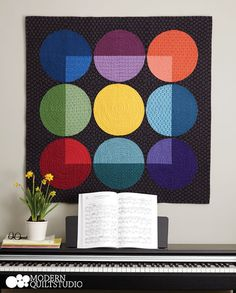 Jewel Box, Modern Quilts Illustrated #8. Photo: Jim White. Copyright Modern Quilt Studio.