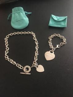 2762cae0087b Tiffany and Co necklace and bracelet set