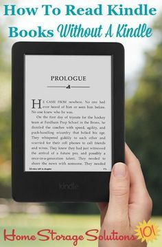 How to read Kindle b