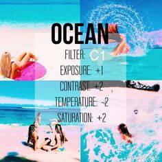 Hey guys this is a new filter acc I will be telling u guys tips on editing for free on vsco cam - good for beachy and water stuff its free!