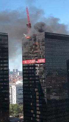 Crane operator rescuing himself from burning earth trade middle in Brussels (6.8.2020) – just out #epic fails hilarious , #fails gifs funny , #funny sign fails , #photo fails hilarious , #pinterest fails    #DesignFails, #EpicFailsFunny, #FailsEpic, #MakeUpFailsFunny, #SjwFail