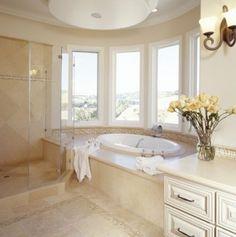 Bathroom - Crema Marfil