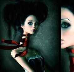 Fragile_by_Mybrokenpieces. surreal art