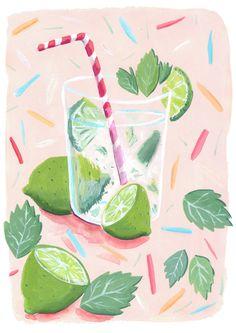 Summer - Mia Dunton Illustration
