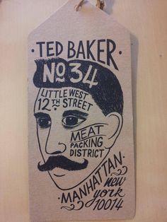 Ted Baker hang tang