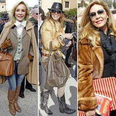 Carmen Lomana, Arantxa de Benito, Norma Duval... tarde de toros en Brihuega #famosos