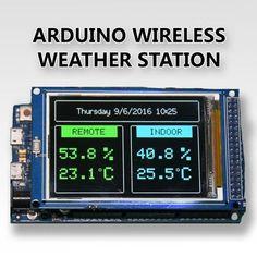 cb6c9b2af36f86 Arduino Wireless Weather Station Raspberry Pi Projects, Solar Tracker, Diy  Tech, Cool Tech