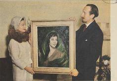 """""""Paul Fitzgerald"""" Famous Australian (Portrait Painter) Realist Artist."""