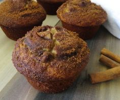 Simple Cinnamon Muffins that can be modified for a 21 Day Sugar Detox diet.  http://stalkerville.net/