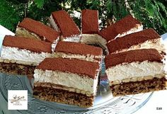 A legfinomabb sütim lett Hungarian Desserts, Hungarian Recipes, Czech Recipes, Ethnic Recipes, Eat Pray Love, Desert Recipes, Cake Cookies, Nutella, Oreo