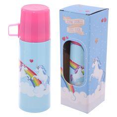 Thermosfles met beker - Unicorn / eenhoorn