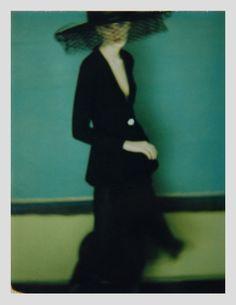 For The New York Times. Polaroid original, 1997 by Sarah Moon. Sarah Moon, Old Photography, Fashion Photography, Conceptual Photography, Inspiring Photography, Portrait Photography, Serge Najjar, Polaroid Original, Moon Photos